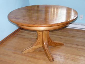 Recycled Solid Douglas Fir Expandable Table